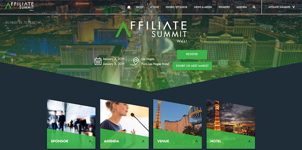 Affiliate Summit West 2019 website image 600x299