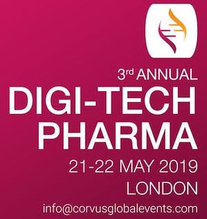 Corvus Global Events 3rd Annual Digi-Tech Pharma 2019 banner 300x317