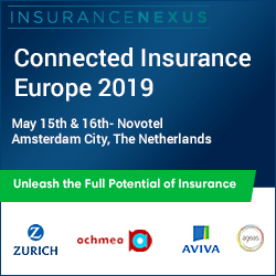 4th Annual Connected Insurance Europe 2019 banner 250x250