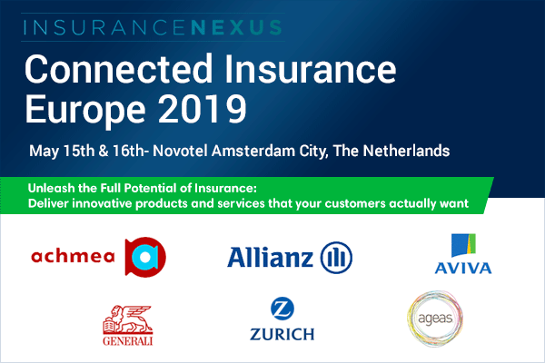 4th Annual Connected Insurance Europe 2019 banner 600x400