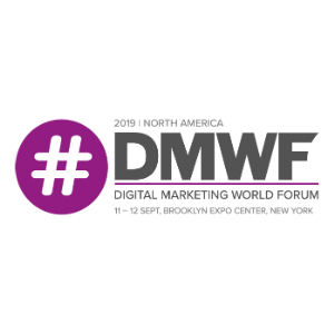 DMWF North America 2019 - Digital Marketing World Forum - New York 2019 logo 300x300