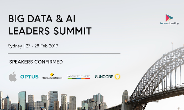 Big Data & AI Leaders Summit 2019 banner 600x