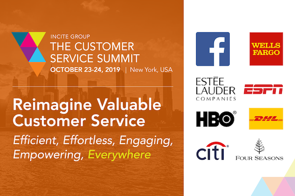 The 9th Annual Customer Service Summit West NYC 2019 banner 600x400
