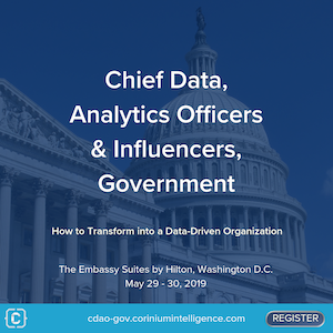 Chief Data Analytics Officers & Influencers, Government banner 300x300