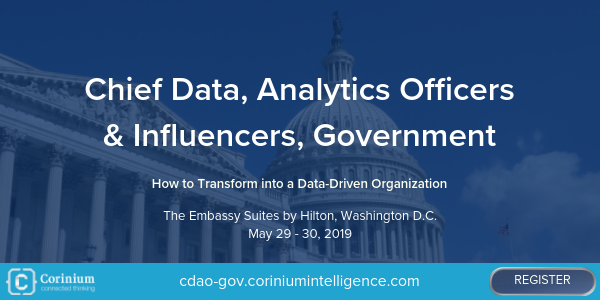 Chief Data Analytics Officers & Influencers, Government banner 600x300