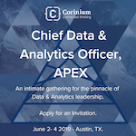 Chief Data and Analytics Officer, APEX 2019