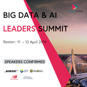 Big Data & AI Leaders Summit Boston 2019 banner 300x300