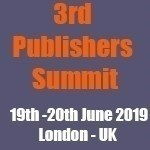 3rd Publishers Summit London 2019