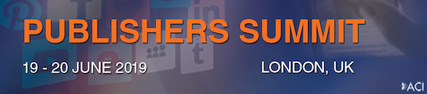Hyperlink to the 3rd Publishers Summit London banner 600x