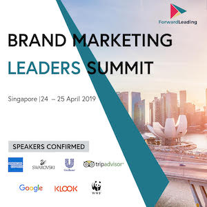Brand Marketing Leaders Summit Singapore 2019 banner 300x300