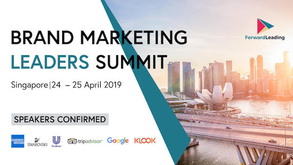 Brand Marketing Leaders Summit Singapore 2019 banner 600x338