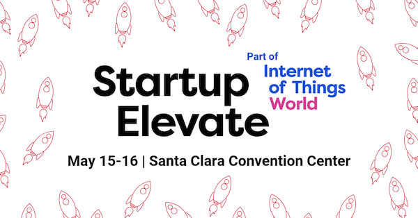 Startup Elevate at Internet of Things World banner 600x314