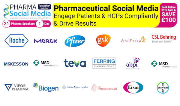 The Pharma Social Media Results Conference 2019 banner 600x300
