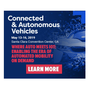 Connected & Autonomous Vehicles 2019 banner 300x300