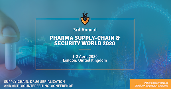 3rd Annual Pharma Supply-Chain & Security World 2020 banner 600x314