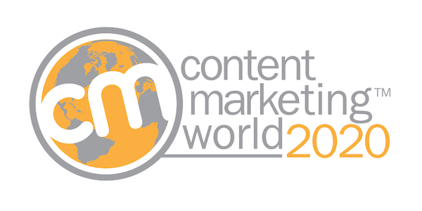 Content Marketing World Conference & Expo logo 600x300