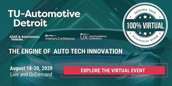 TU-Automotive Detroit, ft. TU-Automotive Awards, Virtual Edition 2020 from banner 600x300